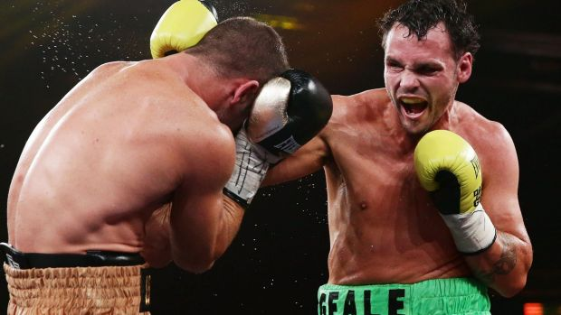 Driving force: Daniel Geale's win will return him to the world stage.