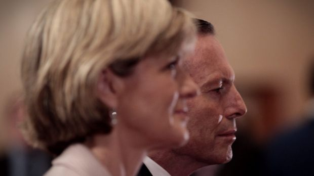 Tensions have emerged between Foreign Minister Julie Bishop and Prime Minister Tony Abbott.