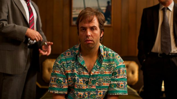 Concentrated effort: Angus Sampson in The Mule.
