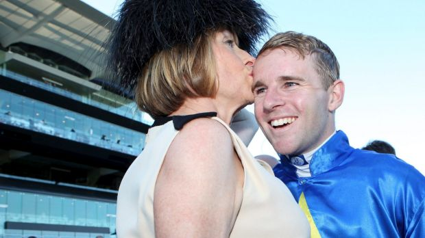 How the west could be won: Tommy Berry and Gai Waterhouse will again team up with Pheidon at Ascot on Saturday.
