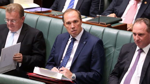 Health Minister Peter Dutton in Question Time last Thursday.
