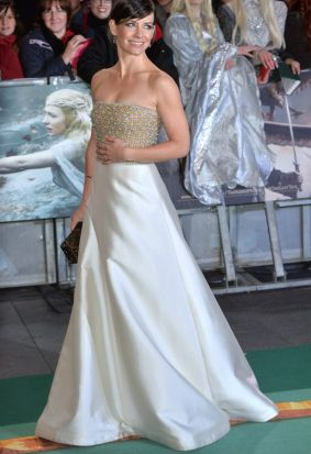 Evangeline Lily on the red carpet.