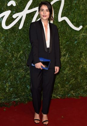 Jessie Ware on the red carpet.