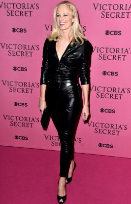 Joely Richardson on the red carpet.