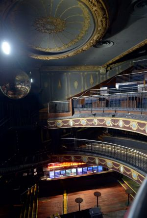 The Palace Theatre in May.