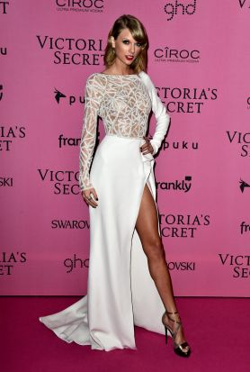 Taylor Swift on the red carpet.