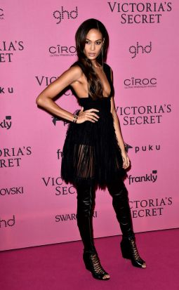 Joan Smalls on the red carpet.