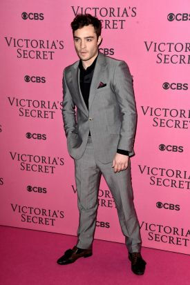 Ed Westwick on the red carpet.