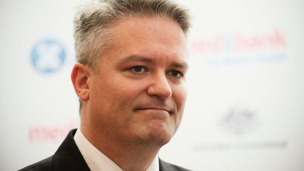 "Finance Minister Mathias Cormann: Jobs would be lost ""across the public service""."