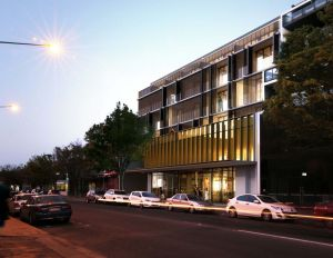 An artist's impression of the new Gallery development proposed for Mort Street, Braddon.