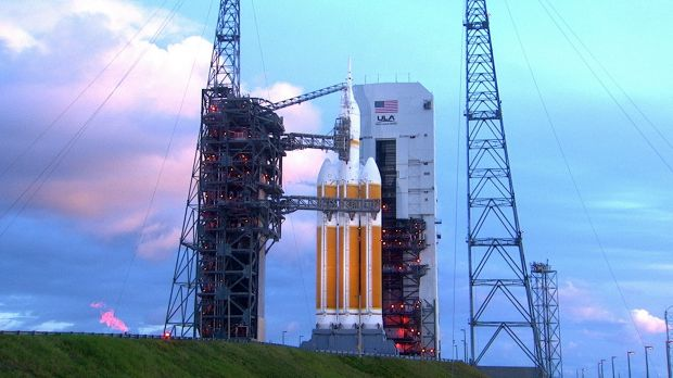 The launch pad of the Kennedy Space Centre may need to be relaunched - on to higher ground.