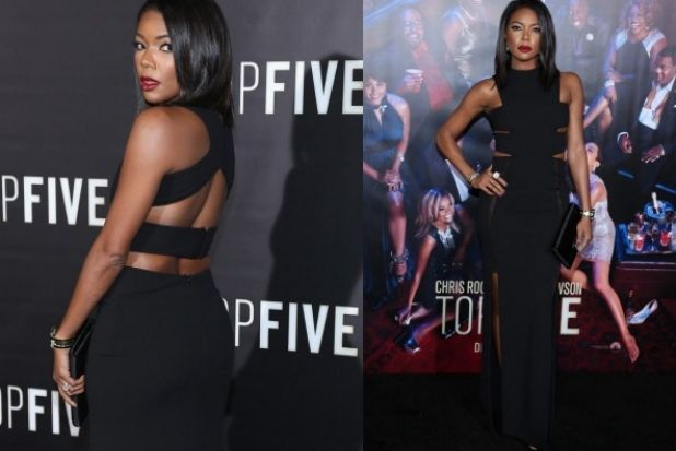 THE GOOD: Top lipstick game and unusually good use of cutouts has Gabrielle Union looking super sleek in this modern ...