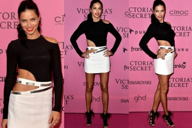 THE BAD: I think we're looking at one too many cutouts here. Adriana Lima is a stone cold fox and one of the world's ...