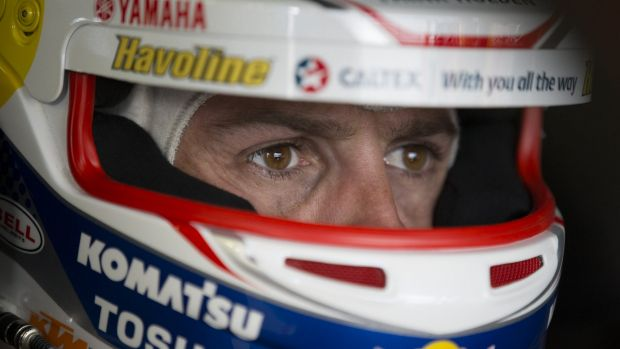 Familiar territory: Jamie Whincup is on top after practice for the weekend's Sydney 500.