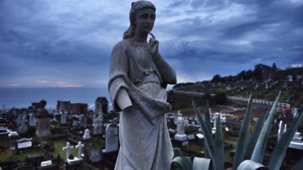 Waverley Cemetery plans to build an extension for undercover funerals at the lower eastern end of the current cemetery.