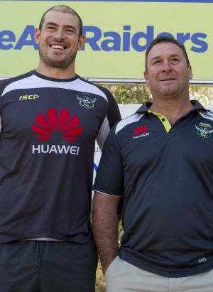 Terry Campese and Ricky Stuart.