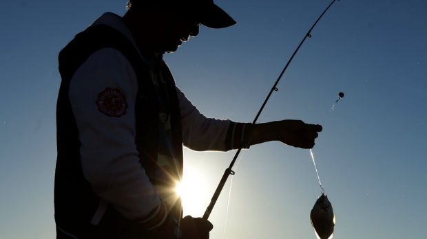 An amnesty on fishing from shore in the state's marine parks has come to an end.