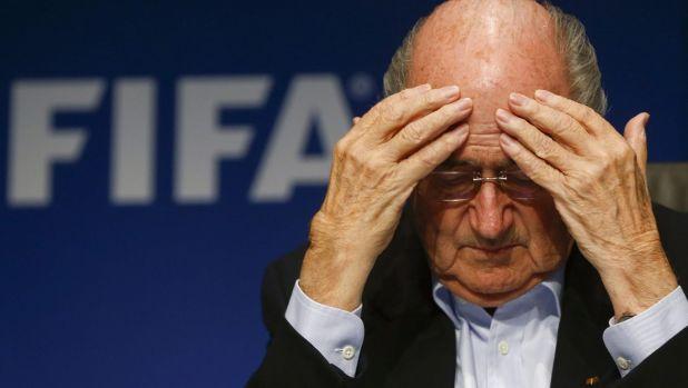 Under scrutiny: FIFA President Sepp Blatter.