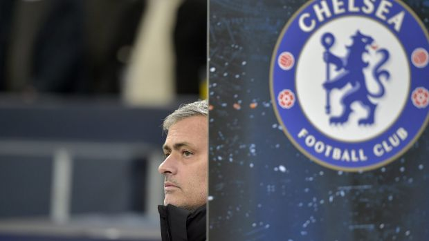 """""""When they see the Chelsea shirts, they play the game of their lives"""": Chelsea's Jose Mourinho."""