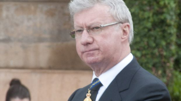 Queensland Governor Paul de Jersey.