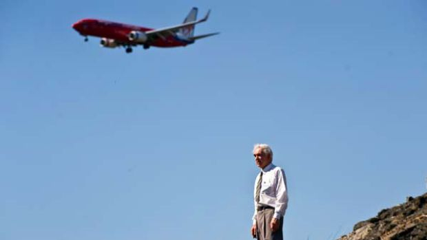 Keith McLaughlin, 73, has given up on his decade-long legal battle to offer cheaper airport parking on his property. ...