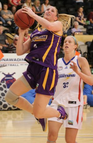 Rebecca Cole led the way for the Boomers,