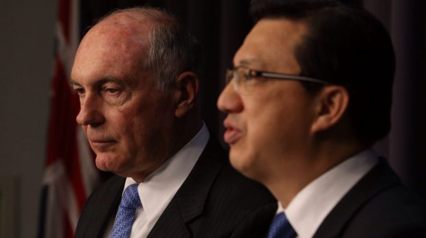 Deputy Prime Minister Warren Truss and Malaysian Transport Minister Liow Tiong Lai earlier in the year.