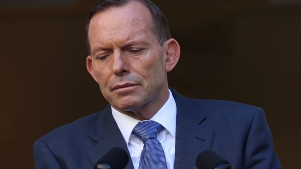 "Change of plans: Tony Abbott will further ""refine"" the existing $5.5 billion scheme."