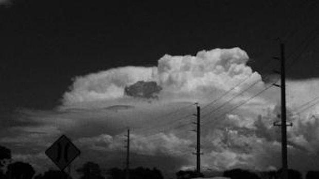 Another storm heading for Campbelltown this afternoon.