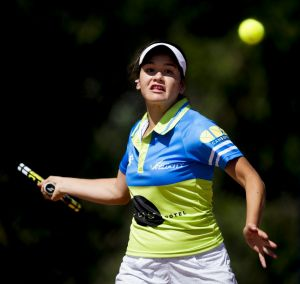 Sport  Canberra Velocity player Maria Vais won her Asia-Pacific Tennis League match against South East Smashers at ...