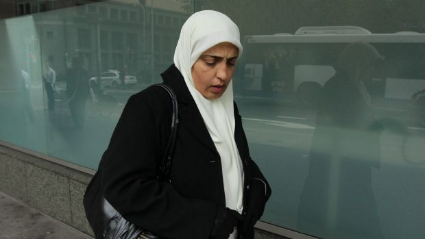 Hayam Abed spent six months in prison after being falsely accused of intending to kill her husband.