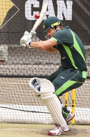 """A few things flooded through my mind as soon as I went out to bat"": Shane Watson."