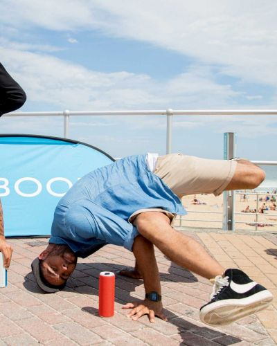 Solo from Justice Crew, UE BOOM Sounds of Summer, The Bucket List Bondi Beach.