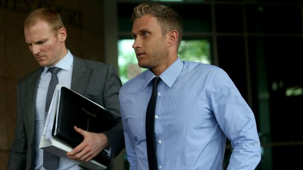 Former tennis coach and player Matthew Fox appears on charges of match fixing and drug trafficking at Melbourne ...