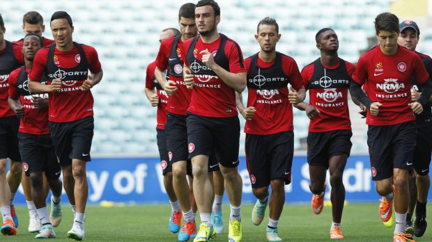 United front: Wanderers players are remaining firm on their threat to withdraw from training sessions and potentially ...