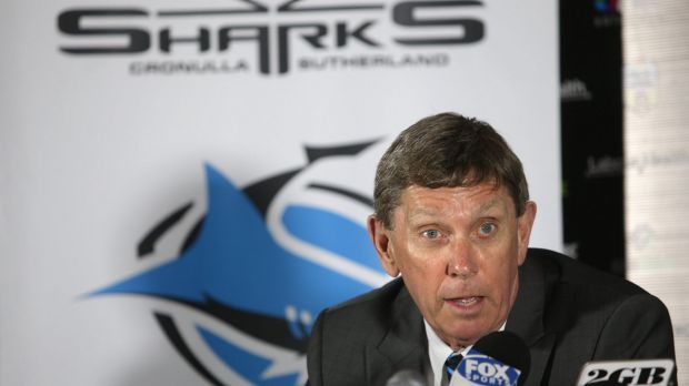 """""""If you own a venue today, you want content"""": Cronulla Sharks chief executive Lyall Gorman."""
