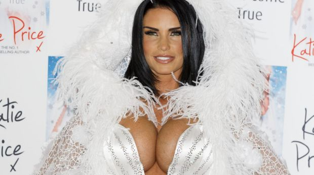 Asset turnover: Katie Price before her latest boob job.