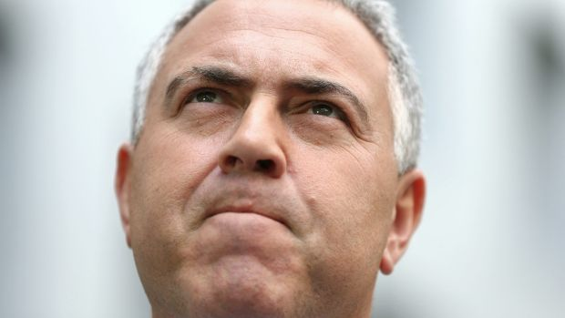 "Treasurer Joe Hockey: ""It robs Australians when multinationals don't pay tax here and we are going to do everything we ..."
