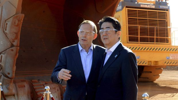 Australia's Tony Abbott and Japan's Shinzo Abe are both facing some testing economic questions.