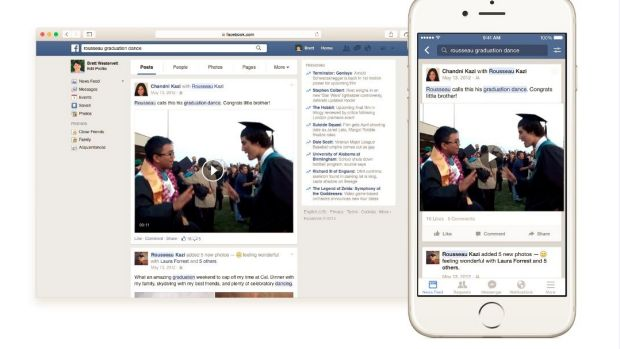 Facebook began rolling out a new search function this week.