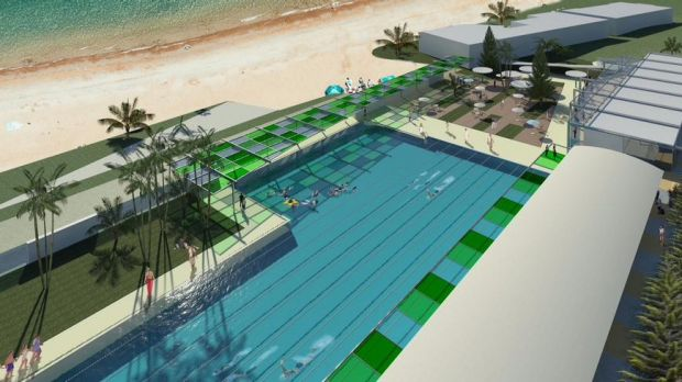 It's budgeted to cost $26m but how much will punters pay to swim at the Scarborough Beach pool?