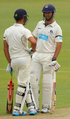 Marcus Stoinis and Rob Quiney were in fine form for Victoria.
