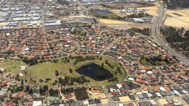 Police have launched an aerial search for the young boy missing in Landsdale.