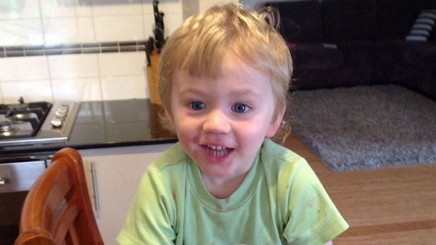 A major search in underway for two-year-old Sam.