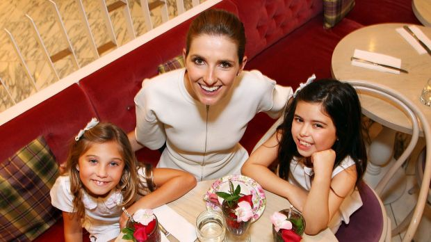Inseparable pair: Television personalities Rosie McClelland (left) and Sophia Grace Brownlee talk to Kate Waterhouse ...
