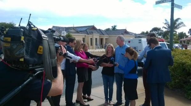 Sam's parents appeal to the media for help in finding their son.