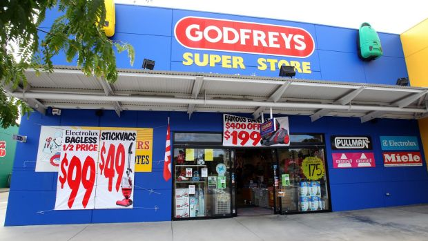 Godfreys has bought an eco-friendly cleaning products firm to make sure it doesn't miss the ''clean and green'' trend.