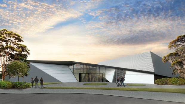 An artist's impression of the  $10 million 300-seat performing arts complex to be built in Brisbane's south.