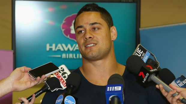 Study tour: Jarryd Hayne has been visiting NFL franchises on the United States' west coast.