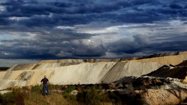 Profitable breach: The Boggabri coalmine in northern NSW where Whitehaven Coal produced excess coal that could earn it ...